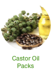 Castor Oil packs Abdominal Therapy
