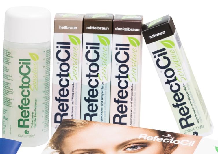 eye treatments selection of veg based tints
