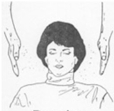Reiki Treatment Beaming