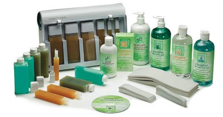 Waxing clean & Easy